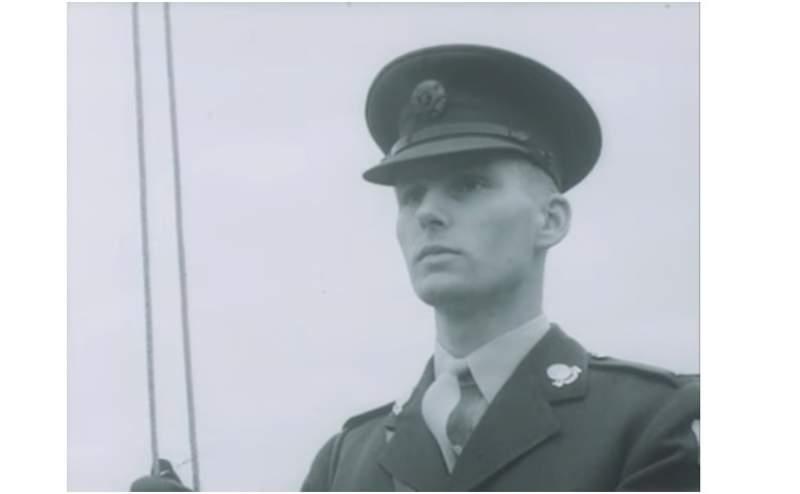 Mor James Mortell, la primera cara a aparèixer a RTÉ