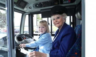 Call for women to give it a spin and drive a bus