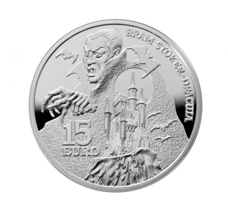 €15 Dracula Coin Rises from the Vaults of the Central Bank