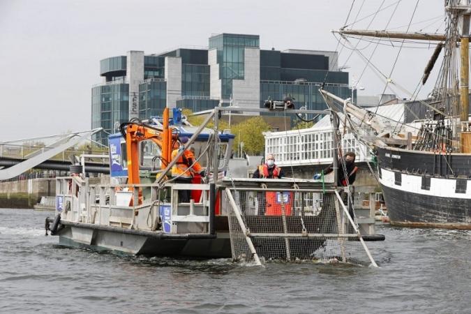 L'Escombra del Liffey deixarà el riu net com una patena