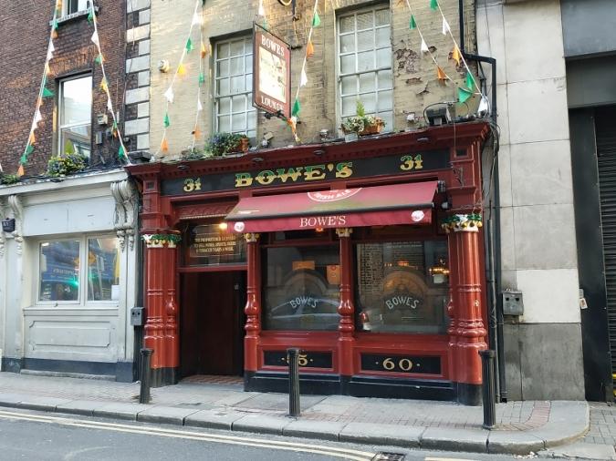 An Taisce s'oposa a l'ampliació del Bowe's de Fleet Street