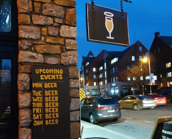 La Garda passarà tot el cap de setmana de pub en pub