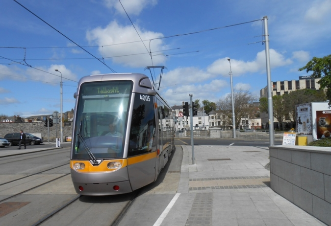Record of public transport users getting into Dublin