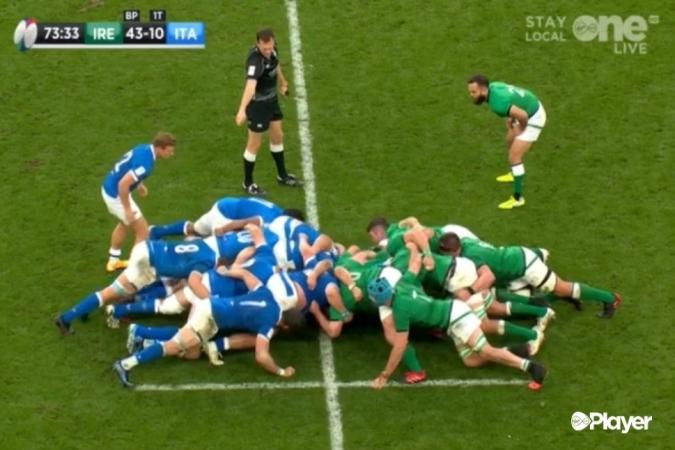 Irlanda escombra els azzurri i tot es decidirà a París