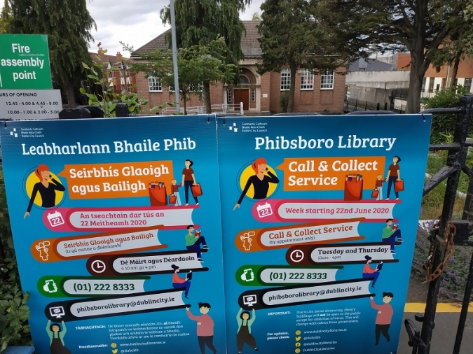 Sis biblioteques de Dublin faran igual que el McAuto