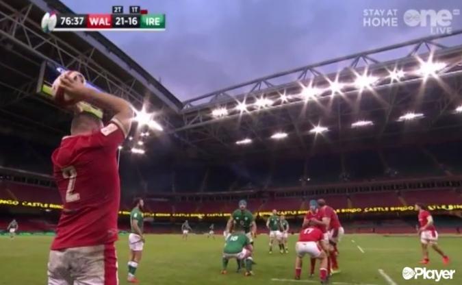 Irlanda acaba sense benzina i perd contra Gal·les (21-16)