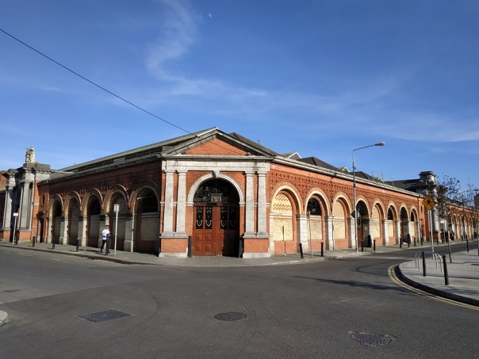 El mercat d'Smithfield abaixa temporalment la persiana