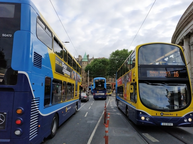 Increase in journeys as users flock to public transport