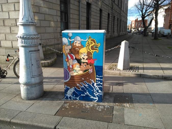 Dublin Canvas continua posant art i color a les cruïlles