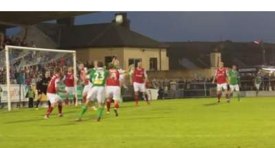 Espectacular gol de xilena al Cork – St Patrick's Athletic