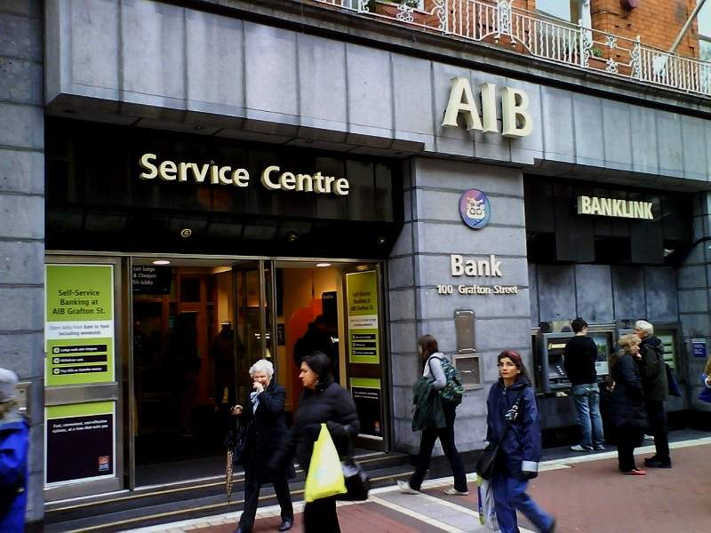 3.500 acomiadaments entre AIB i Bank of Ireland