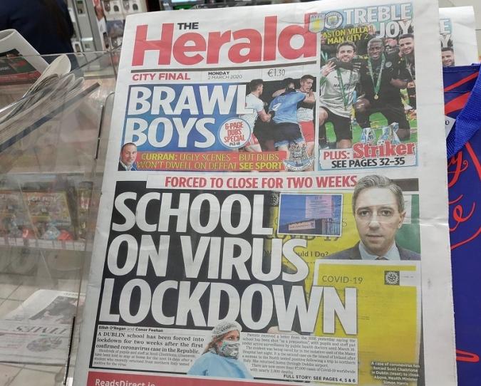 Primers brots d'histèria col·lectiva amb el coronavirus