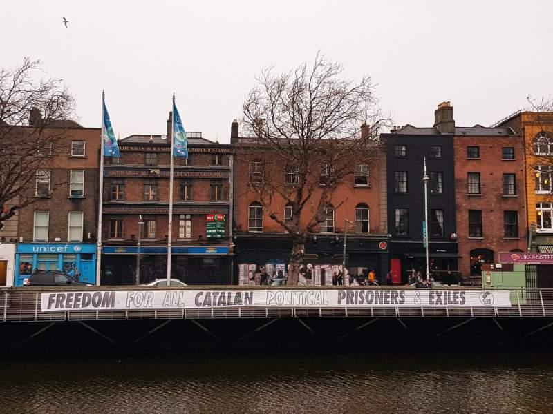 El CDR de Dublin amb els presos polítics i els exiliats