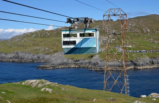 Els ecologistes no volen Darth Vader a Dursey Island